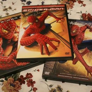 all three toby mcguire spiderman movies